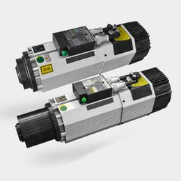 air electric power tools UK - 9Kw Air Spindle cooling mill Automatic Tool Change Electric Power Head 3ph 220V 380V ISO30 24000rpm Air cooling Machining Center ATC spindle