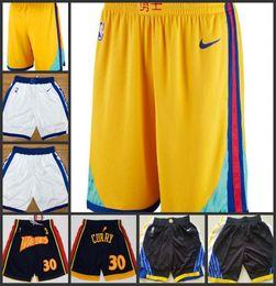 Warriors Basketball Shorts Australia - New Season Golden State Men Warriors  Pants City Basketball Edition Shorts c5bf6c65fd49