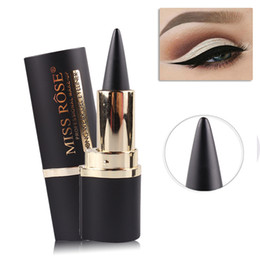 Gel Eyes Liner Australia - Luxurious eyeliner Gel Long-wearing natural long-lasting Waterproof Matte black tube Eye liner Eyes cosmetics Free shipping