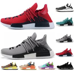 $enCountryForm.capitalKeyWord Australia - pharrell race human mens women running shoes grey red Black nerd Pale nude pink glow trainers mens designer shoes sports sneakers US