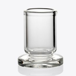 Wholesale Best Design Carb Cap Holder Thick Clear Glass stand OD mm stander for quartz carb cap dabber caps