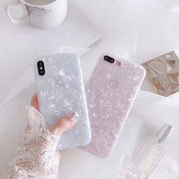 Мода Конч Shell Phone Case Для iphone 6 S Чехол Для Apple, iphone X 6 7 8 Плюс Задняя Крышка Роскошные Прекрасные Случаи Смешно на Распродаже
