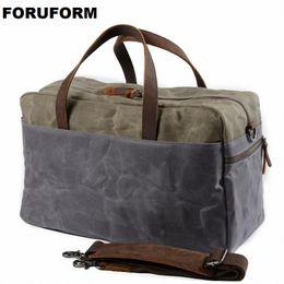 Waterproof Canvas Men Travel Bags Carry On Luggage Bags Men Duffle Bag  Travel Tote Weekend Bag Overnight Large Capacity LI-2338 2cf9508446fca
