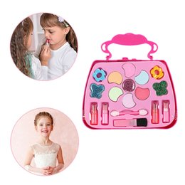 performance tables Australia - Children's Cosmetics Princess Girls Simulation Dressing Table Makeup Toy Cosmetics Party Performances Dressing Box Set Children