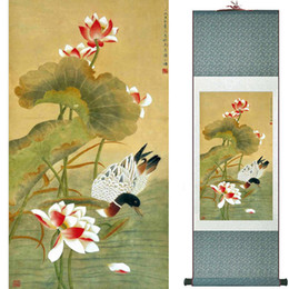 scroll paintings Australia - Birds On The Tree Painting Home Office Decoration Chinese Scroll Painting Birds Painting Birds And Flower Painting062910