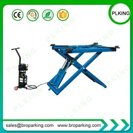 Auto scissor online shopping - Car Service Lifter With Movable Auto Scissor Lift Supplying From China At Factory Price