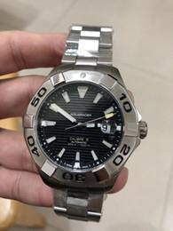 Top Quality Atacado Mens Relógio De Luxo Em Aço Inoxidável AQUARACER Mens Designer Tag Relógio Automático Mechnical Luxo Relógio De Pulso venda por atacado