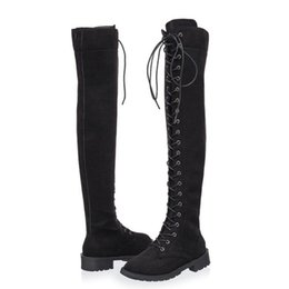 2e28b78a41 Shop Long Lace Thigh Boots UK | Long Lace Thigh Boots free delivery ...