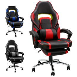 $enCountryForm.capitalKeyWord NZ - New arrival Black Adjustable Office Chair 360 degree reclining chair Computer gaming chair with Padded Footrest