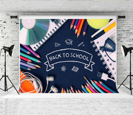 $enCountryForm.capitalKeyWord Australia - Dream 7x5ft Back to School Colorful Pencil Photography Backdrop Chalkboard Books Decor Photo Backdrops for School Party Shoot Studio Prop