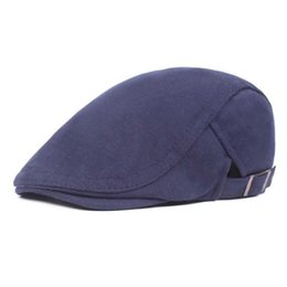 gatsby hats men NZ - Winter Men's Beret High Quality Outdoor Visors Hats for Men Berets Cap Gatsby Cap Golf Driving Flat Cabbie Beret Vintage Ha't's
