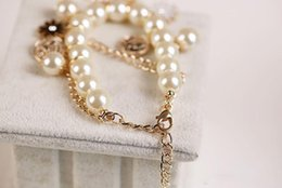 ladies wrist chain Australia - Fashion Pear Women Bracelet Two Chains Head of Horse And Petal Charm Bracelets Ladies Wrist Strap Designer Women Jewelry