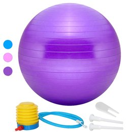 $enCountryForm.capitalKeyWord Australia - Hot Sale Yoga Balls Sport Non-Slip Relax Muscle Pilates Exercise Balance Stability Ball Gym Fitness Workout Massage Ball