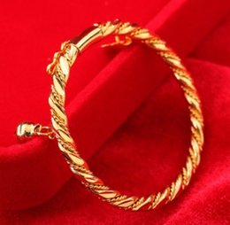 $enCountryForm.capitalKeyWord Australia - Hot sale new children fashion jewelry 18K gold plated copper small bell bracelet birthday festival gift