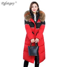 Long Parkas For Women Australia - 2018 Fur Hooded Jacket for Women Padded Cotton Down Winter Coat Back Embroidery Long Parkas Womens Coats Clothing Plus Size 5XL