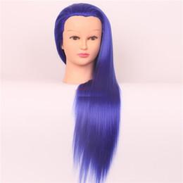 $enCountryForm.capitalKeyWord UK - 2016 new color makeup full head hair wig practice make-up mannequin head dummy head mannequin modeling