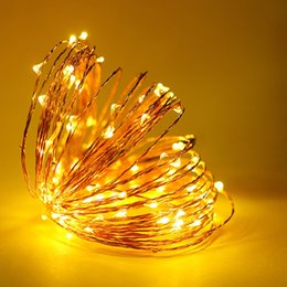 $enCountryForm.capitalKeyWord Australia - USB 5V 5M 10M LED Strip Copper Wire Lights Waterproof for Bedroom, Christmas Holiday,Party Decorative String Light