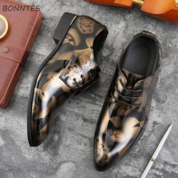 $enCountryForm.capitalKeyWord NZ - Leather Casual Shoes British Style All-match Non-slip Waterproof Shoe Men Classic Gentleman Simple Lace-up Leisure High Quality