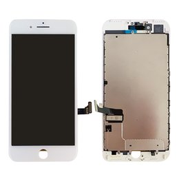 Cellphones Lcd Displays Australia - For Iphone 7 plus LCD Digitizer Touch Screen Display With Metal Plate Pre Assembly 5.5inch Cellphone Screen Replacement Wholesale