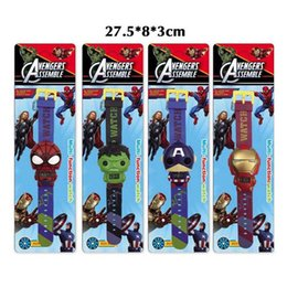 $enCountryForm.capitalKeyWord Australia - Kids Avengers deformation watches 2019 New Children Superhero cartoon movie Captain America Iron Man Spiderman Hulk Watch toys C23