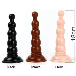 $enCountryForm.capitalKeyWord NZ - Big Suction Cup Anal Beads Pagoda Butt Plugs Adult Sex Toys For Woman Men Gay Anal Plug Anus Dilator Stimulator Buttplug Y19070102