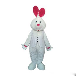 $enCountryForm.capitalKeyWord UK - 2019 Factory Outlets hot Adult White Rabbit Mascot Costume Carnival Festival Commercial Advertising Party Dress With Fan In Head