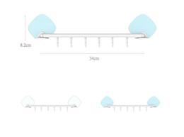 $enCountryForm.capitalKeyWord NZ - 2017 Creative Home Bathroom Adhesive Hooks Seamless Transparent Sticky Hangers Housekeeper decorative coat hooks Hangers