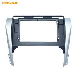 """Wholesale FEELDO Car Audio 2Din Fascia Frame Adapter For Toyota Camry 2012 10.1"""" Big Screen CD DVD Player Fitting Panel Frame Kit #6421"""