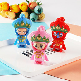 Discount opera dolls - Traditional Creative Chinese Opera Face Changing Doll Sichuan Opera action figures Toy Education Toy Baby Toys & Games C