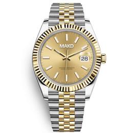 U1 orologio relógios mecânicos automáticos homens grandes lupa 41mm aço inoxidável safira homens relógios masculinos relógios de pulso impermeável luminosa em Promoção