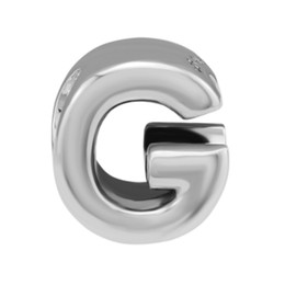 $enCountryForm.capitalKeyWord UK - Letter Charms Fits Original Pandora Bracelets Authentic 925 Sterling Silver Alphabet Number G Beads for Jewelry Making Women's Accessories