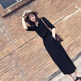 3ce3c990a8d Hepburn Long Skirt 2019 New Women s Wear Korean Version Fashion Fork Skirt  Tide Temperament Waist Thin Dress Woman Xia
