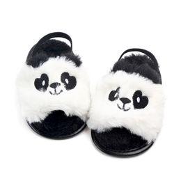 $enCountryForm.capitalKeyWord NZ - New Fashion Summer wool Cute animal Baby slippers first walkers Anti-slip Pu leather crib Girls Boys Sneakers Baby shoes