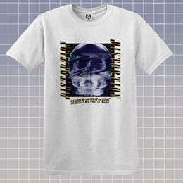 Wholesale Distortion T shirt X Ray Skull Hipster Tee Reality broken Tumblr Gosha Style Top Brand shirts jeans Print