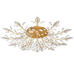 $enCountryForm.capitalKeyWord UK - New item fancy ceiling light LED Crystal ceiling lamp modern lamps for living room lights,AC110-240V DIY Crystal lighting