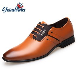 Genuine Leather Pigskin Australia - 2019 Brand Genuine Leather Fashion Business Dress Shoes Men Oxfords Breathable Pigskin Lining Formal Wedding Shoes