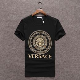 2019 Girocollo uomo # 224 Maniche corte Tee Stones Felpe Hip Hop Maglietta con stampa T-shirt moda Uomo Maglietta in Offerta
