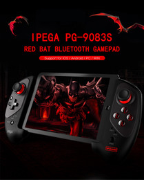 ipega games Canada - iPEGA PG - 9083S Red Bat Bluetooth Wireless Gamepad Telescopic Game Controller Practical Stretch Joystick Pad for iOS Android PC
