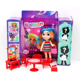 $enCountryForm.capitalKeyWord NZ - Wholesale 3pcs lot hair beauty surprise dolls for girls Funny Toy Kids Gifts Educational Dolls Action Figure Popular Children Toys