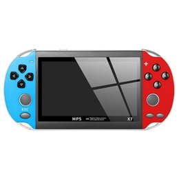 Music gaMes children online shopping - 4 inch for GBA Handheld Game Console X7 Video Game Player Retro Games LCD Display Game Player for Children