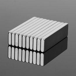 Magnet N52 Block Australia - Hardware Magnetic Materials 10PCS 40x10x3mm N52 Super Strong Block Cuboid Neodymium Magnets 40*10*3mm Rare Earth Powerful Magnet