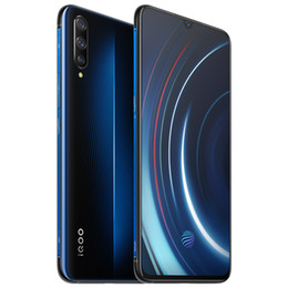 "vivo mobile phones android UK - Original VIVO IQOO 4G LTE Cell Phone 6GB RAM 128GB ROM Snapdragon 855 Octa Core Android 6.41"" AMOLED 13MP Fingerprint ID Smart Mobile Phone"