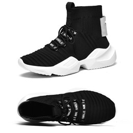 China Casual Men Sock Shoes Spring Male Breathable Rugged Footwear Fashion Trainers Fall Korea Ulzzang Shoes Balmorals Superfiber Upper Sneakers cheap shoes korea fashion suppliers