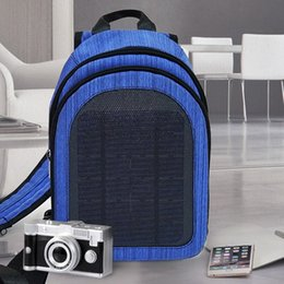 solar powered laptops 2019 - Outdoor Solar Power Charge Backpack Laptop Daypack Business Travel Phone Charger Waterproof Bags ASD88 discount solar po