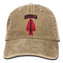 $enCountryForm.capitalKeyWord Australia - 2019 New Designer Baseball Caps Mens Cotton Washed Twill Baseball Cap US Army Retro 1st Special Forces Ent Delta SSI Hat