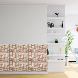 $enCountryForm.capitalKeyWord Australia - 3D Stereo Brick Collage Wall Decals Living Room Bathroom Bedroom Kitchen Tile Decor Self-adhesive Wallpaper Poster Stickers DIY Home Decor