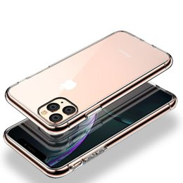 mirror glass iphone case NZ - Tempered Glass Case For iPhone 11 Pro X XR XS Max Shockproof Protective Cover Mirror Case For iPhone 11 2019