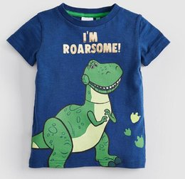 Discount new brand styles shirt boy - Summer new brand children's clothes printed boys cartoon t-shirts