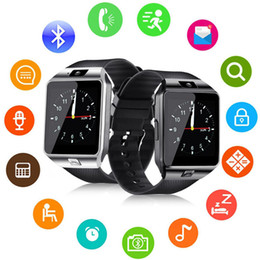 Discount german used - DZ09 Q18 GT08 Smart Watch Wristband Android Smartwatch SIM Intelligent Mobile Phone Record the Sleep State Watch With Re