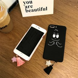 e4338a5de Korean cartoon baba applies iphone 7 mobile phone shell lovely iphone8 6s  7plus pendant female model A undertakes to